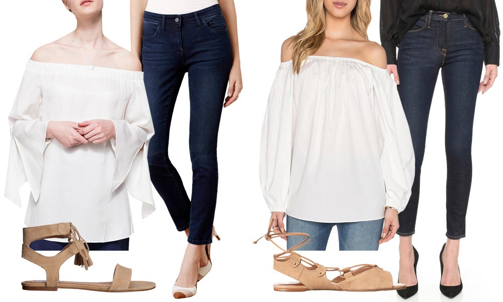 Best Off the Shoulder Top Ideas How to Wear an Off the Shoulder Top