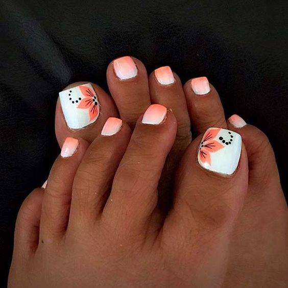 How To Get Your Feet Ready For Summer 50 Adorable Toe Nail Designs