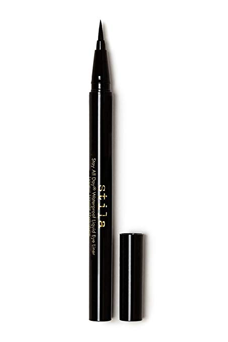 Stila Stay All Day Waterproof Liquid Eye Liner, Intense Black (Jet Black)