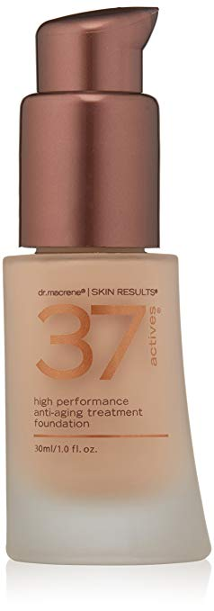 37 Actives High Performance Anti-Aging Treatment Foundation, Medium, 1 oz.