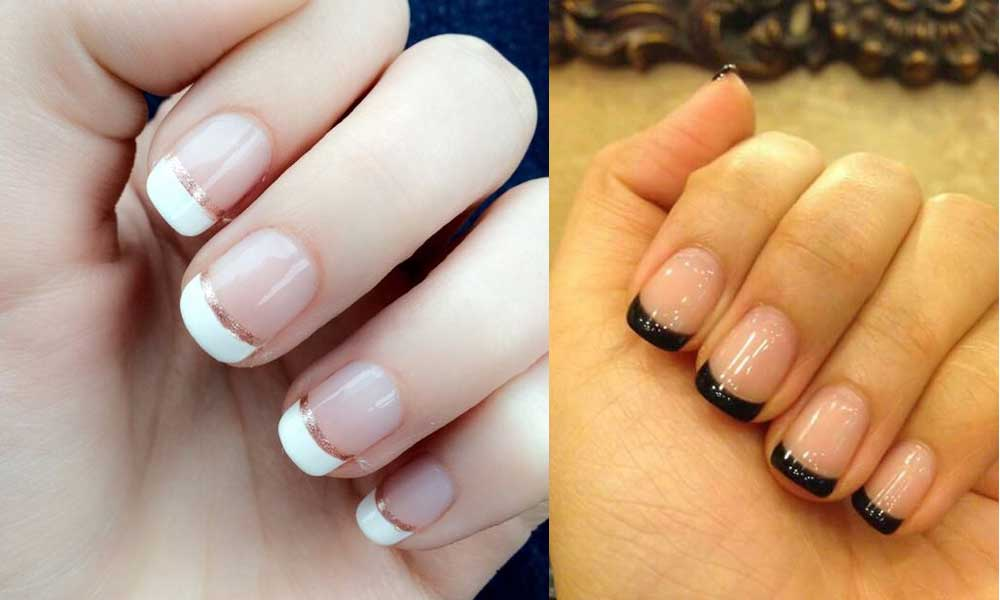 30 Hottest French Manicure Designs 2019 - Fresh French Manicure Ideas