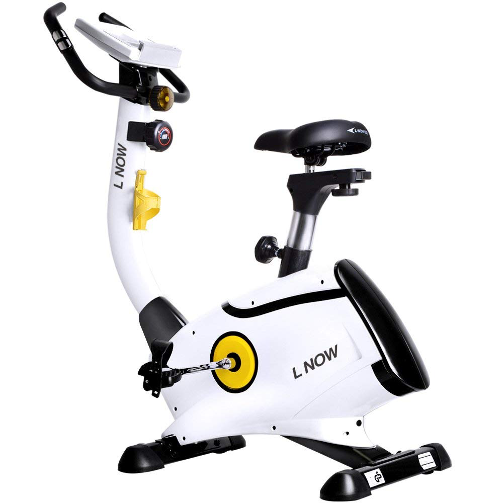 L NOW Magnetic Resistance Stationary Exercise Bike