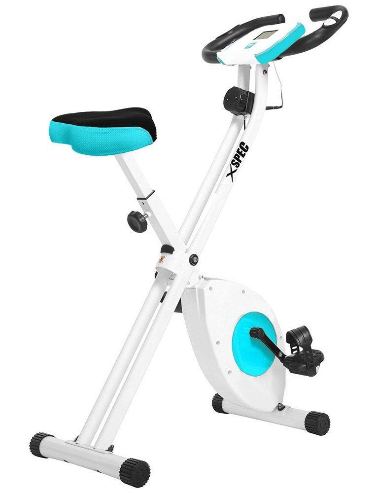 Xspec Foldable Stationary Exercise Bike
