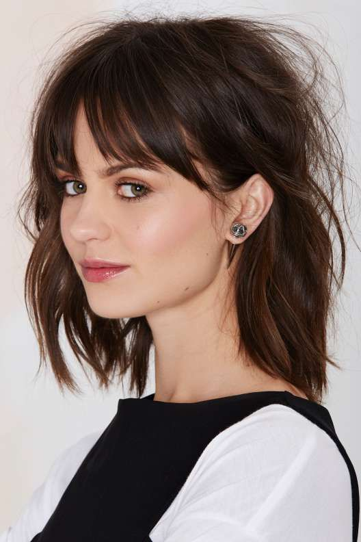 How To Pull Off Bangs Her Style Code