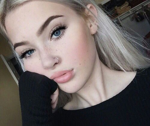 nostril piercing ring - Google Search
