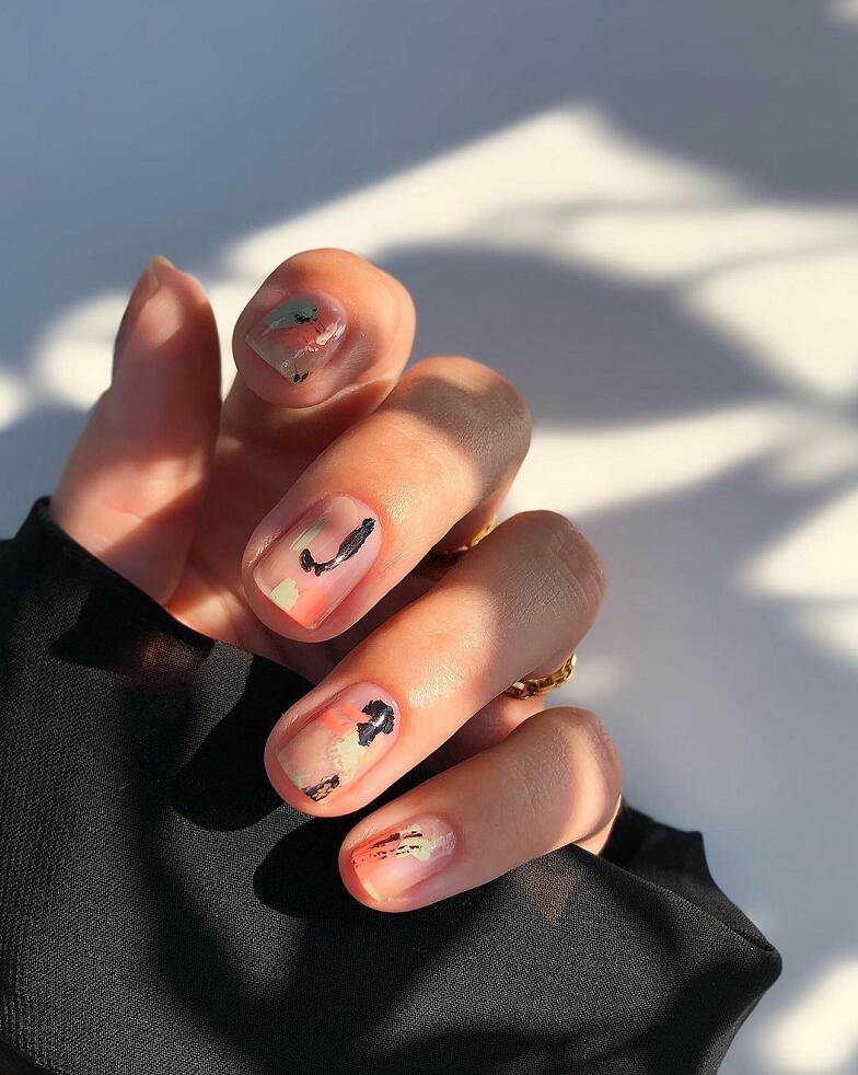 cute short nail design ideas 2022