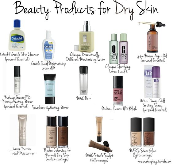 Beauty Products for Dry Skin #makeup #beauty #cosmetics