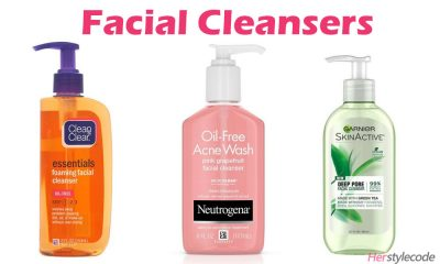 Facial Cleansers for Oily Skin