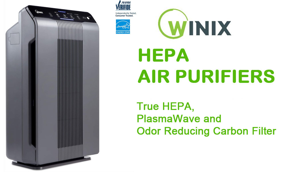 Winix 5300 2 Air Purifier with True HEPA Best HEPA Air Purifiers 2021 - Winix 5300-2 Air Purifier Air Cleaner Review
