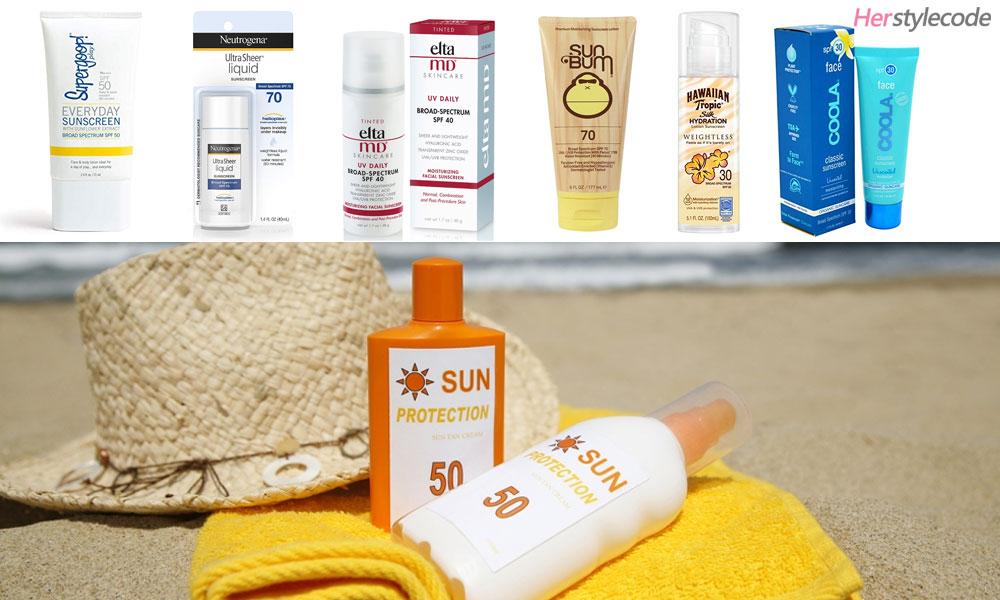 Best Sunscreens The Top 7 Best Sunscreens to Wear Under Makeup