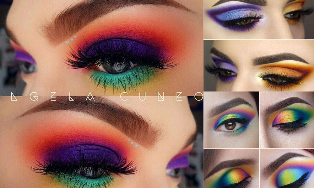 Mismatched-Eyeshadow-makeup-ideas