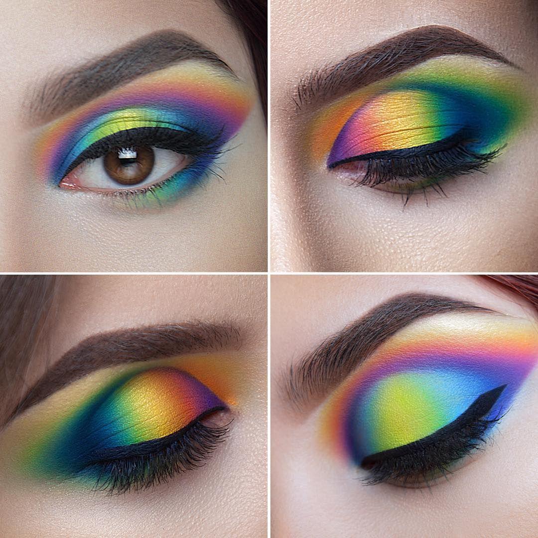 Pull Off Mismatched Eye Makeup