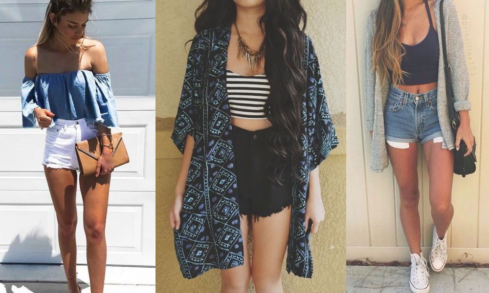shorts best outfit ideas for summer
