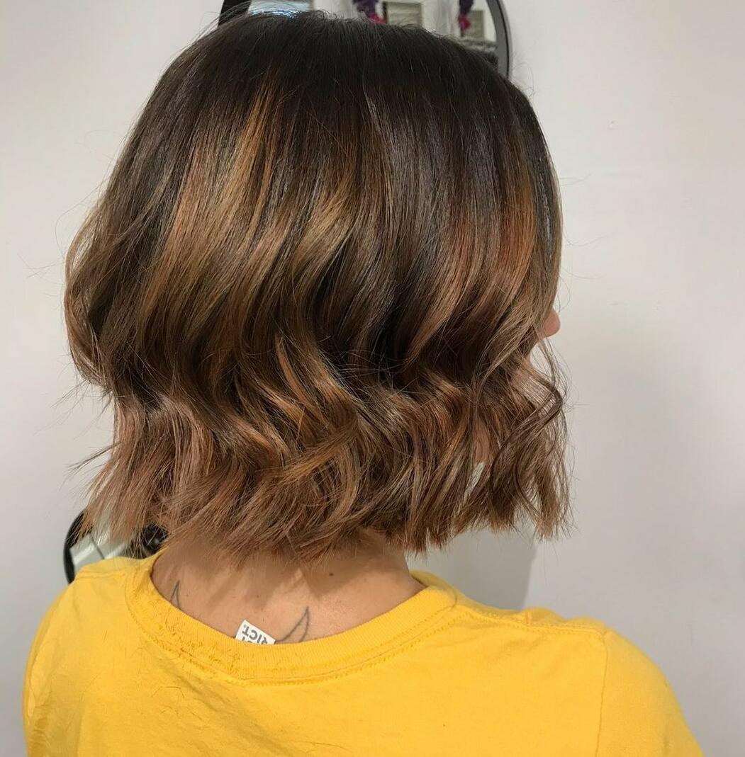 Balayage can be for bobs too!