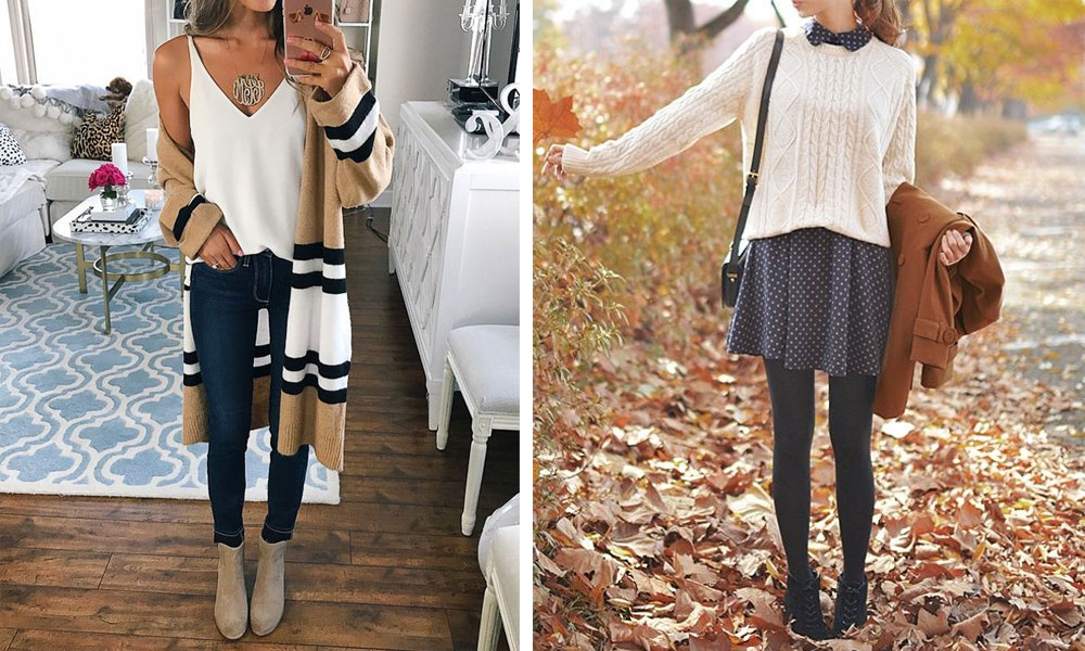 Summer Fall outfit ideas for women 7 Ways to Wear Your Summer Wardrobe This Fall