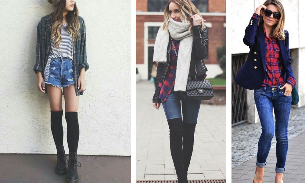 How to Wear a Flannel Shirt (Girls Style)
