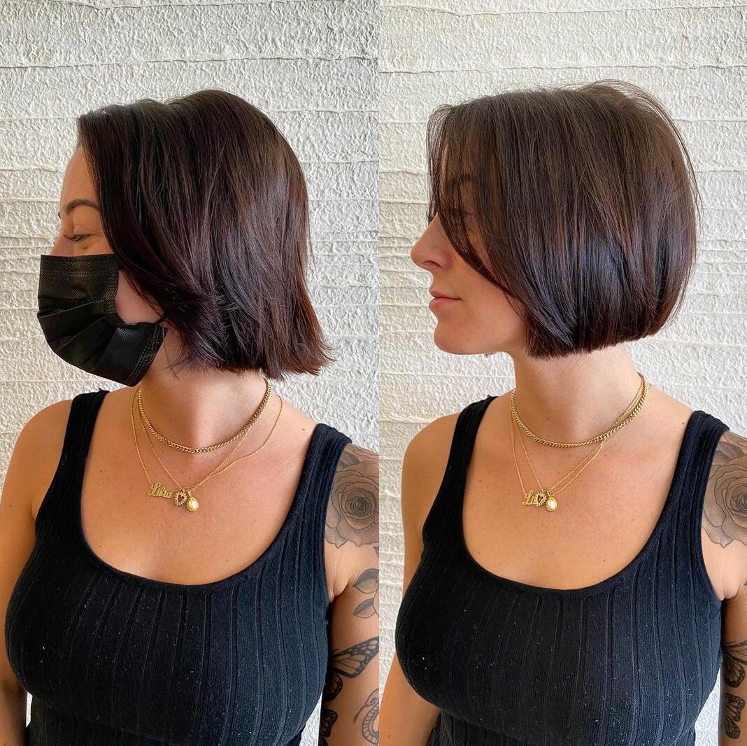 best blunt bob haircut for women
