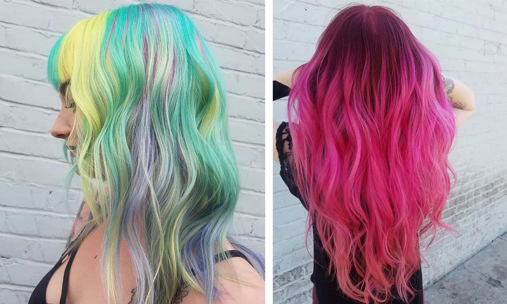 Best hair color ideas for 11 Bright Hair Color Ideas & Trends for 2021