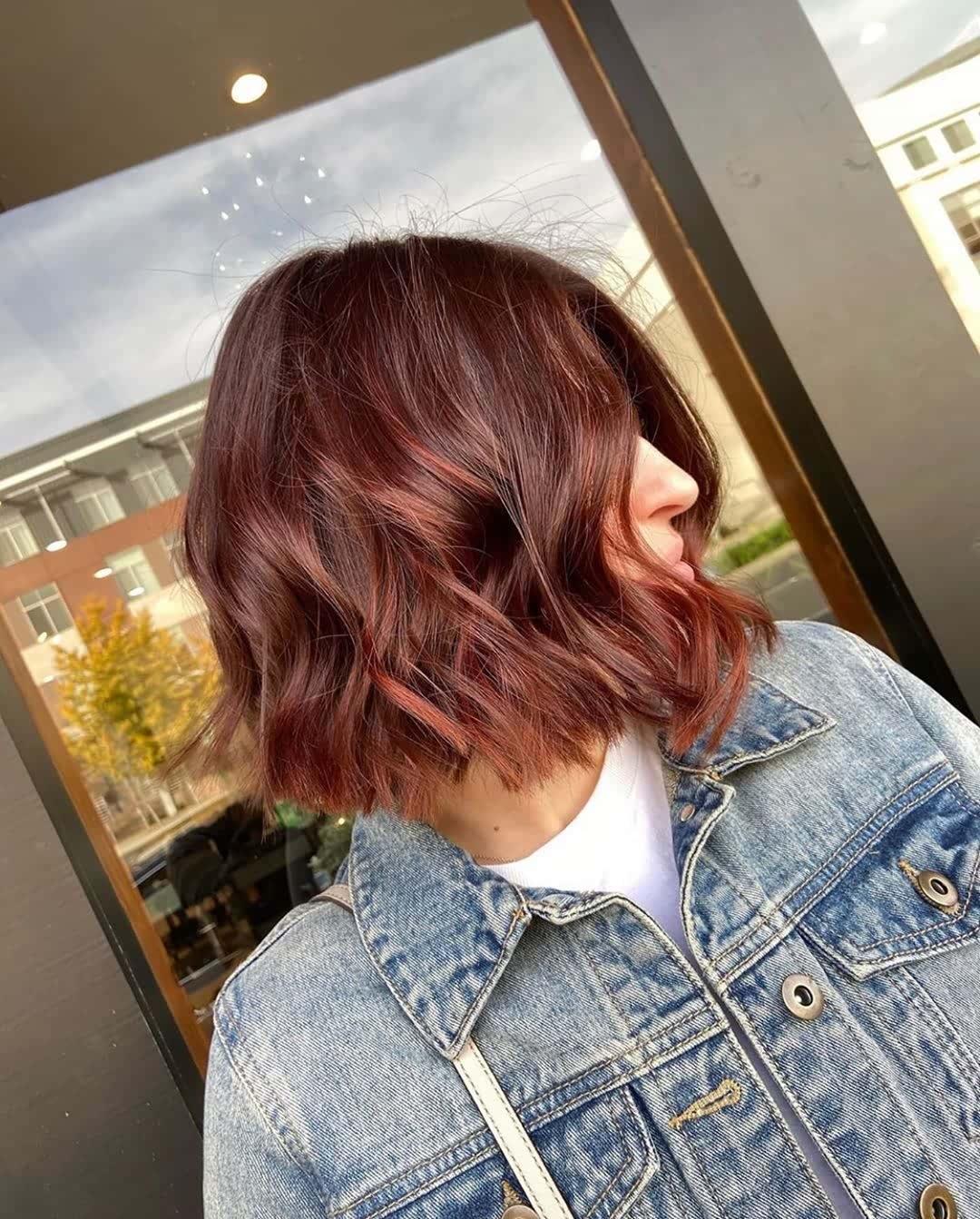 Hair Color Ideas for Bob Hairstyles (9)