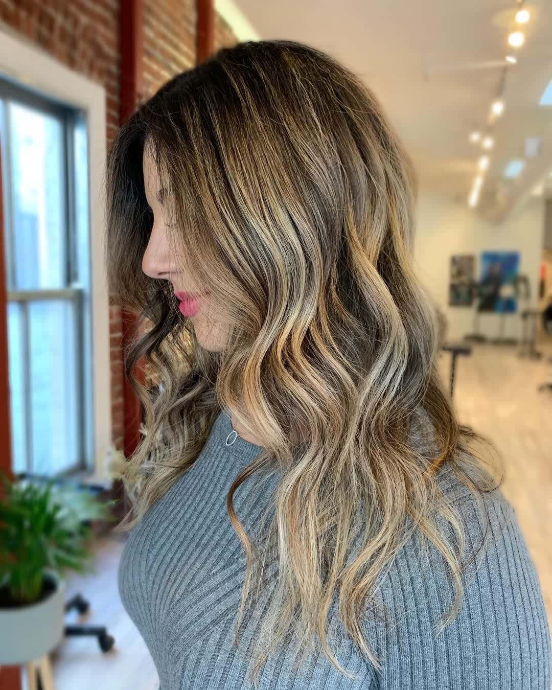 beach wave hair styles (6)