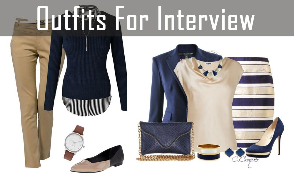 Outfits For Confidence In An Interview 12 Professional Outfits For Confidence In An Interview