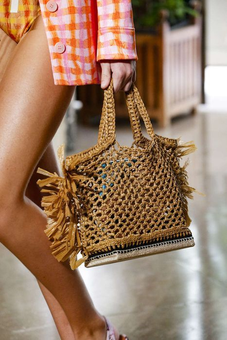 Christian Dior crochet bag Spring Summer 2020