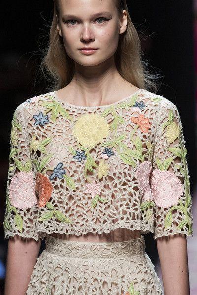 Blumarine at Milan Fashion Week Spring 2020
