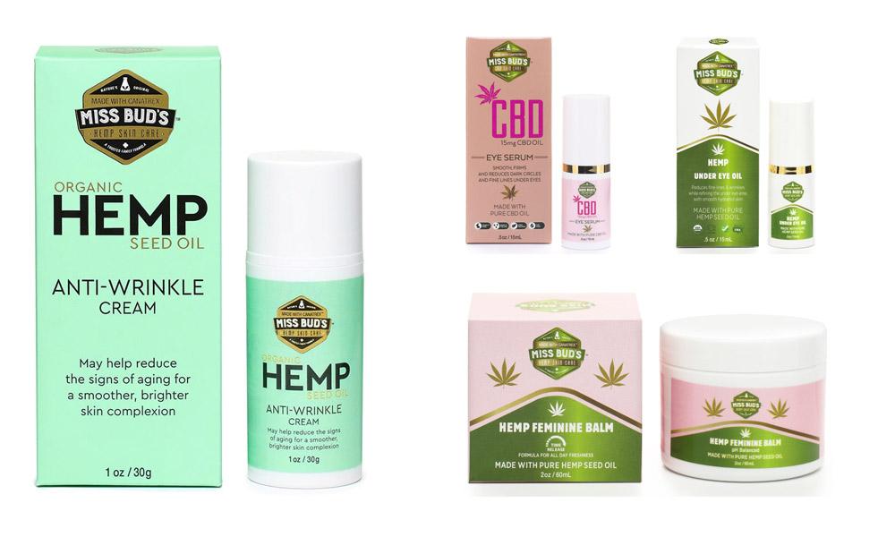 Hemp beauty products Miss Bud's Hemp Feminine Products - For the Modern Lifestyle