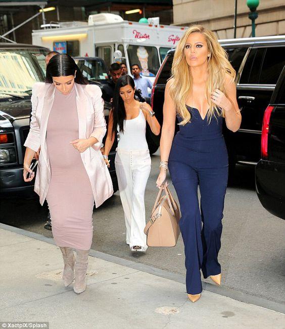 Kardashian sisters in soho