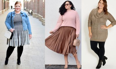 best winter plus size outfit ideas 7 Stylish Winter Looks for Curvy Cuties