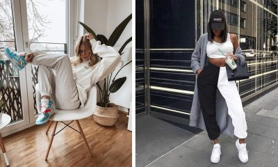 What to Wear with Sweatpants What to Wear with Sweatpants? Stylish Ways to Wear Sweatpants for Ladies