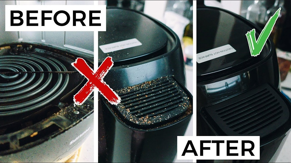 how to clean air fryer How to Clean the Air Fryer in the Right Way