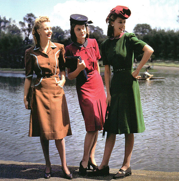 1940s fashion 40s- 90s: The Ultimate Guide to Women's Vintage Fashion