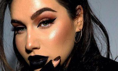 how to wear black lipstick casually 6028c7e0c97bf How to Wear Black Lipstick Casually