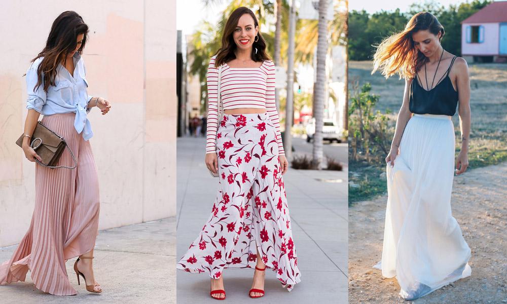 best-maxi-skirt-outfit-ideas-for-women-summer