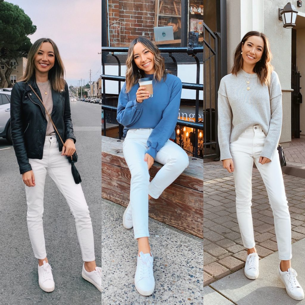 12 Ways to Style Your White Jeans - LIFE WITH JAZZ