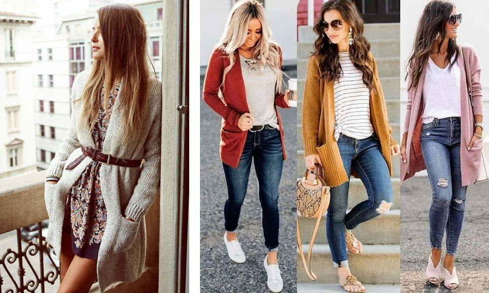 what to wear with Cardigans How to Style Cardigans to Create Fabulous New Fashion Combos