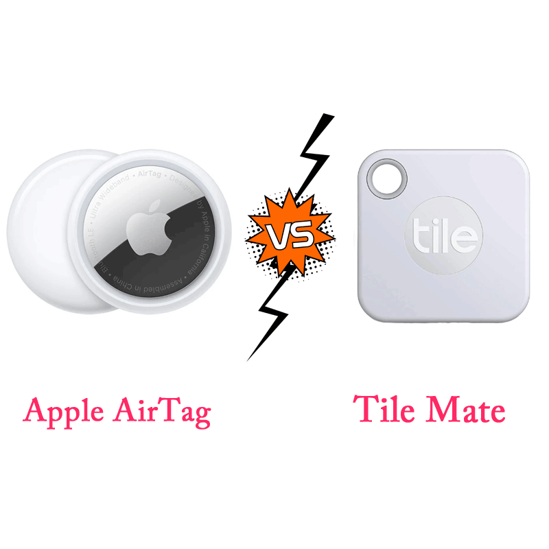 Apple AirTags Vs. Tile Mate Apple AirTags Vs. Tile Mate - Which One is Better?