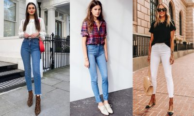 How to Style High-waisted Jeans