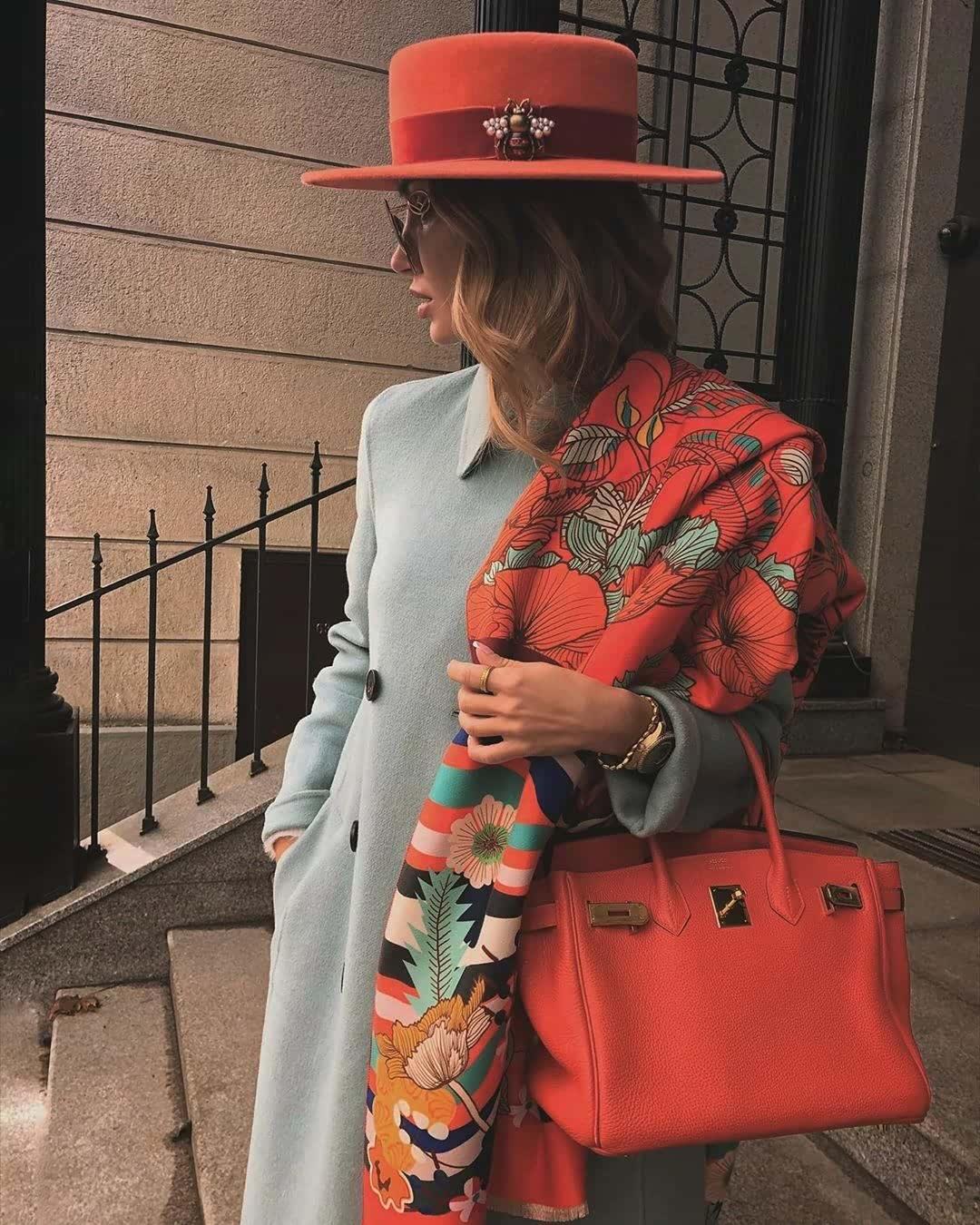 Hermès Birkin 35 Rouge Garance Togo with Palladium Hardware