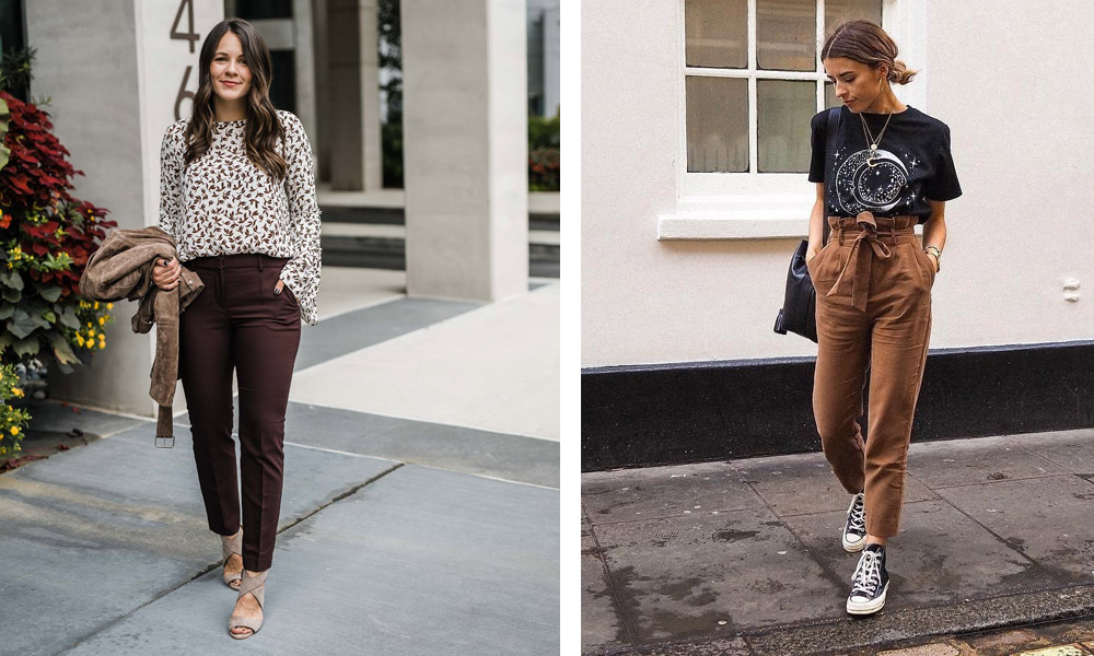 brown-pant-outfit-ideas-for-women