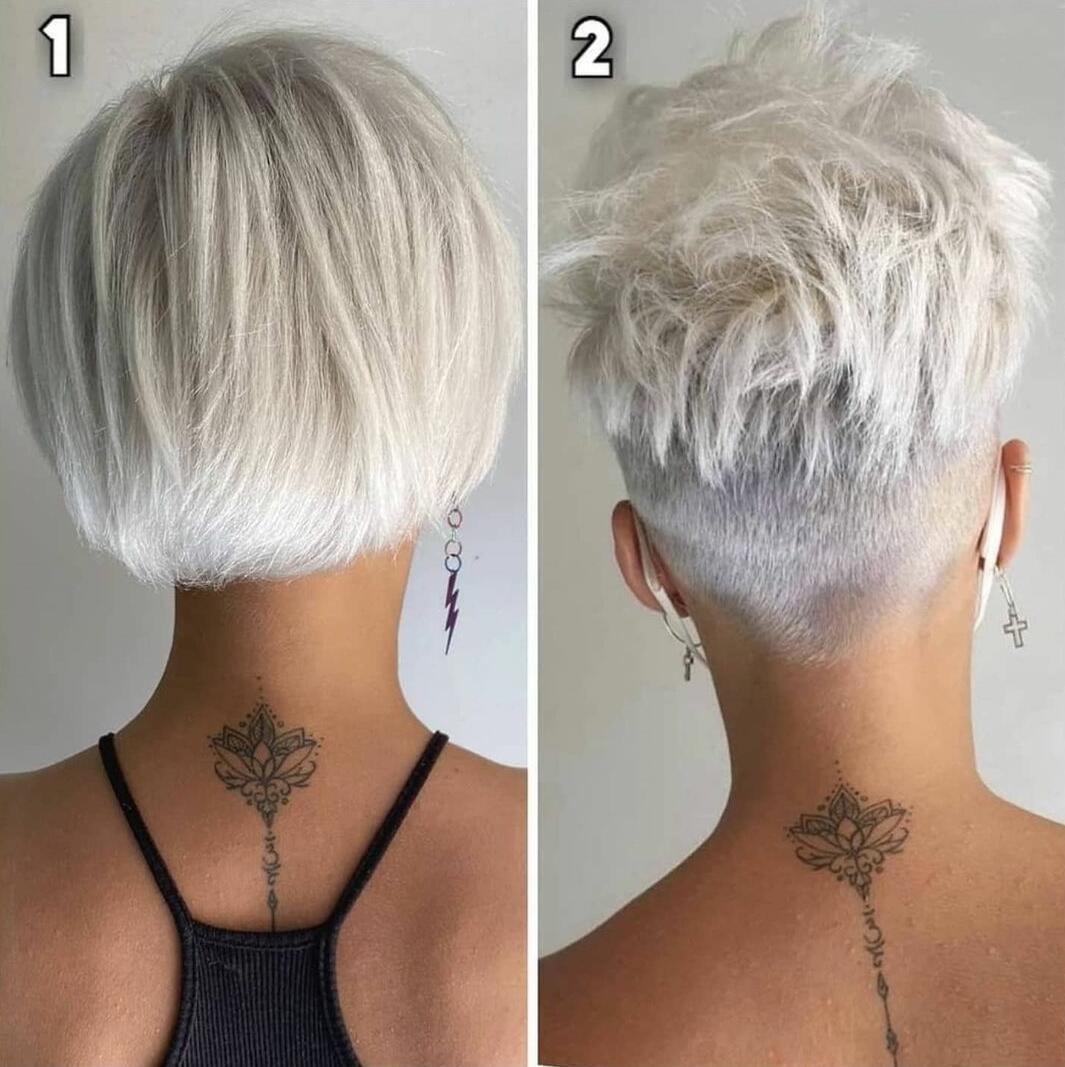 pixie haircut for women
