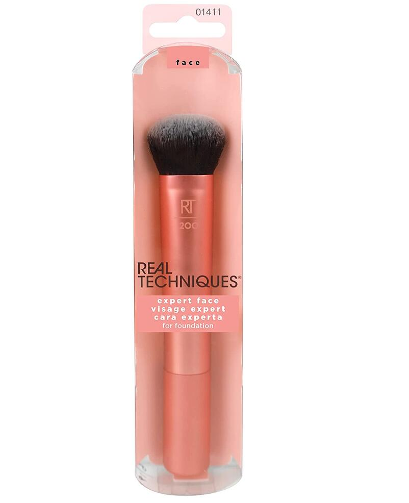 Real Techniques Professional Foundation Makeup Brush, For Even Streak Free Application