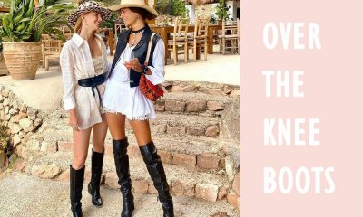 what to wear with Over the Knee Boots 1 How to Wear Over-the-Knee Boots - Classy & Trendy Daily Outfits