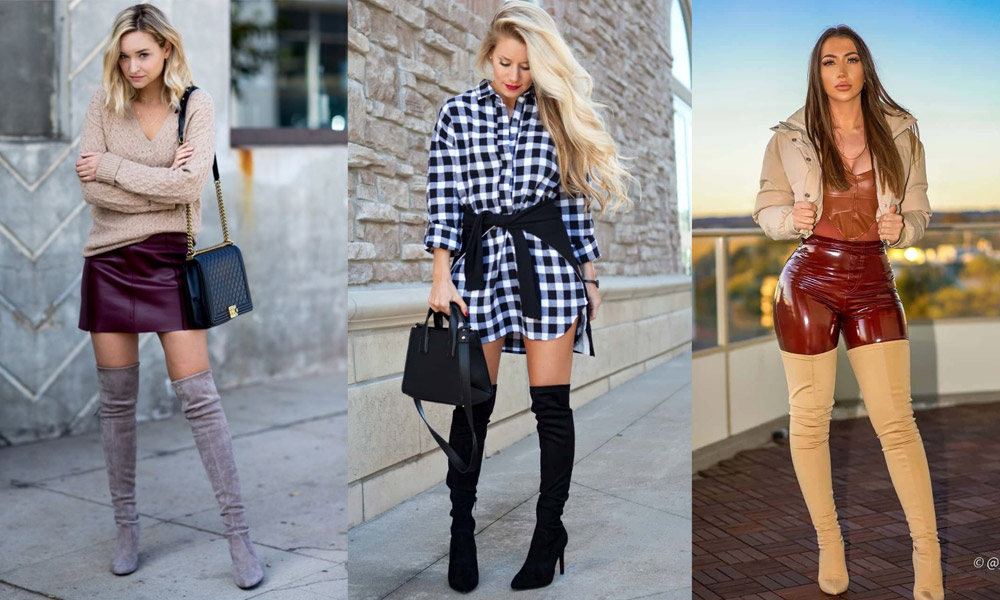 Thigh High Boots outfit ideas for women How-to and What to Wear with Thigh High Boots