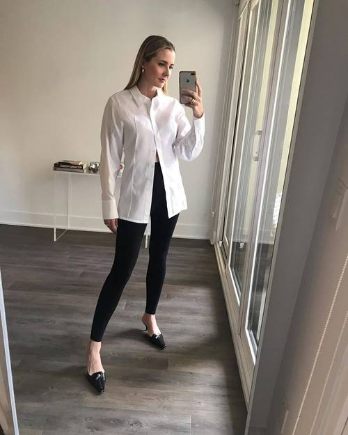 Can I wear my leggings to work? It is better than tight-fitted pants and skirts after all!