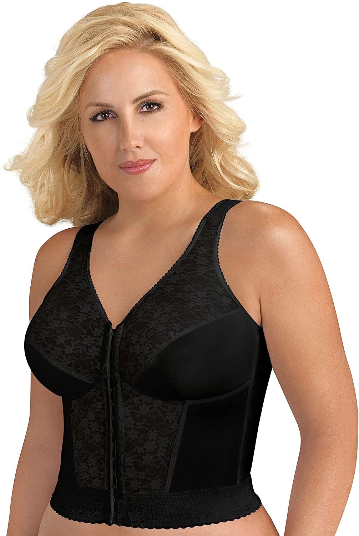 Best Classic Lace Longline Bra for mature women